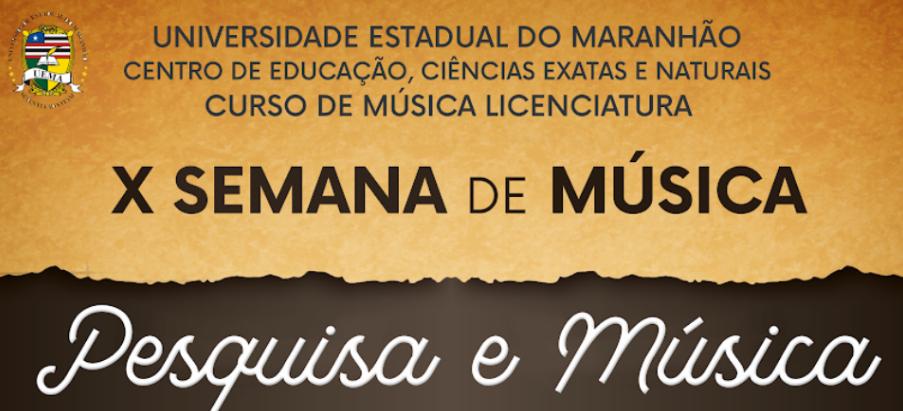 X SEMANA DE MÚSICA